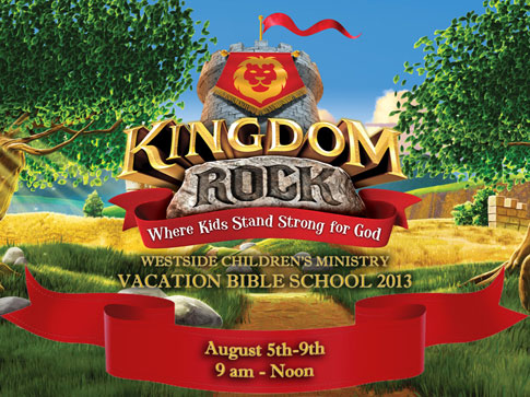 2013 VBS Sign up today!